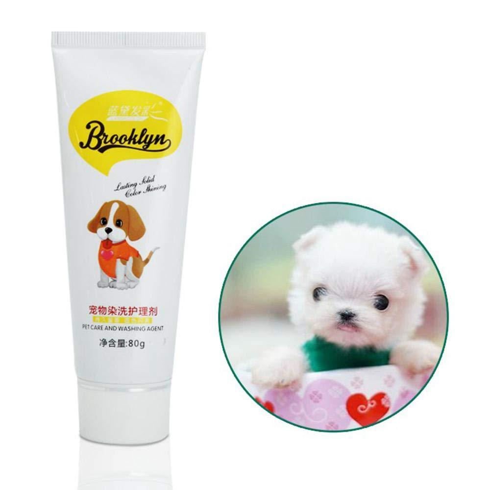 Aolvo Dog Hair Dye Gel Natural Dog Hair Coloring Cream Non Toxic