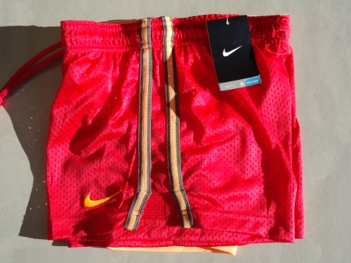 Activewear Women's Clothing Nike Pro Dri-fit Compression Shorts-size Small Orange Purple
