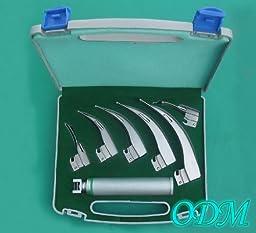 ODM Fiberoptic Macintosh Laryngoscope Six Blade Set