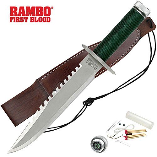(Rambo Knife 9292 Hollywood Collectibles First Blood Standard Knife)