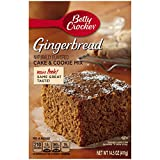 Betty Crocker Baking Mix, Cake & Cookie Mix, Gingerbread, 14.5 Oz Box (Pack of 12)