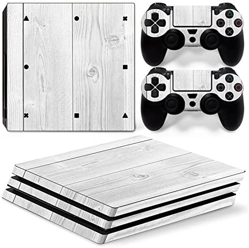 Sony PS4 Playstation 4 Pro Skin Design Foils Pegatina Set - White ...