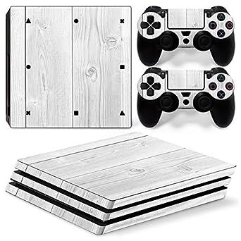 White Wood Motiv Sony Ps4 Playstation 4 Skin Design Aufkleber Schutzfolie Set Pc- & Videospiele