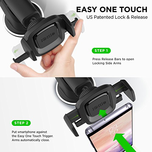 iOttie Easy One Touch 4 Air Vent Car Mount Phone Holder Note 9 /& Other Smartphones iPhone Xs Max R 8 Plus 7 Samsung Galaxy S10 E S9 S8 Plus Edge