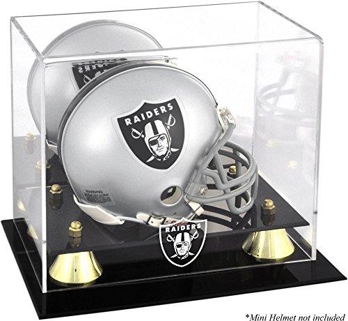 Mounted Memories Oakland Raiders Mini Helmet Display Case