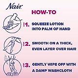 Nair Hair Baby Oil Hair Removal Lotion, 9.0 oz