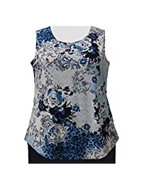 A Personal Touch Leopard Lace Women's Plus Size Tank Top