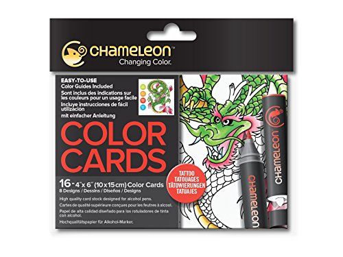Chameleon Art Products, Chameleon Color Cards - -