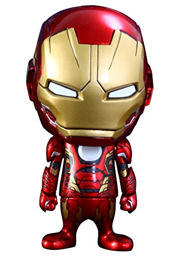 Hot Toys Marvel Avengers Age of Ultron Cosbaby Series 2 Iron Man Mark XLV 3-Inch Mini Figure ()