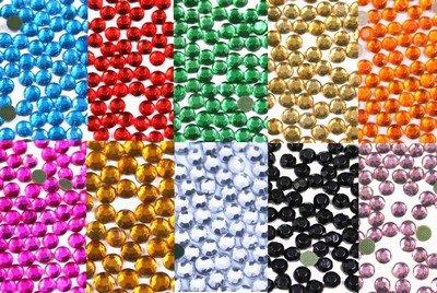 New ThreadNanny 14440 - 4mm 16ss Hot Fix Rhinestone Crystals - All 10 Colors by ThreadNanny