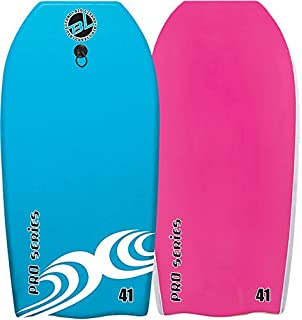 Body Boards - #1 Professional Series Hard Slick Bottom Bodyboard & Leash - Best New