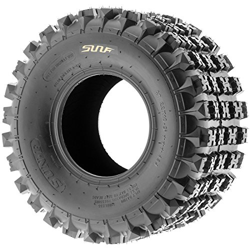 Sun F A027 ATV Tire 22x11x9,6 PLY,Rear by SunF (Image #3)