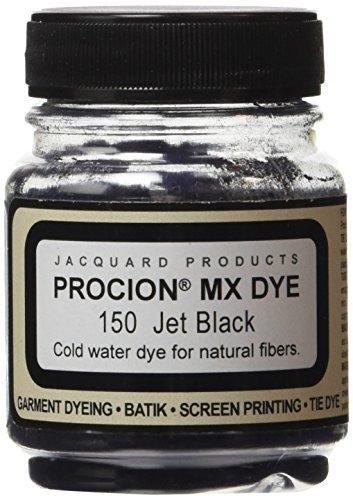 - Jacquard Procion MX Fiber Reactive Dye 2 3rd ounce Jar (Jet Black)