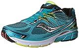 Women S Shoes Best Deals - Saucony Women's Omni 14 Running Shoe, Blue/Black/Citron, 8 W US