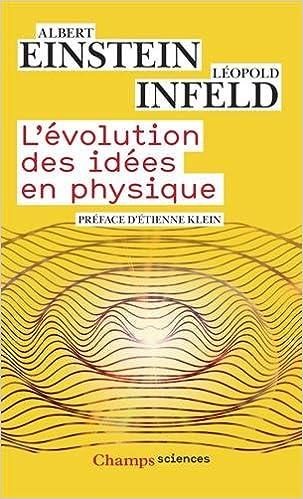 Livre gratuits L'évolution des idées en physique pdf ebook