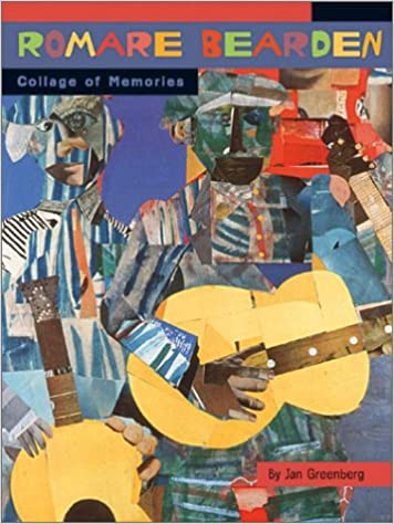 Romare Bearden Collage Of Memories Jan Greenberg 9780810945890 - Romare-bearden-coloring-pages