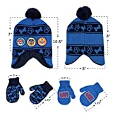 Nickelodeon Boys Paw Patrol Winter Hat with 2 Pair