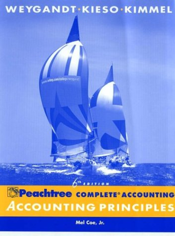 Accounting Principles, , Peachtree Complete Accounting Release 2003