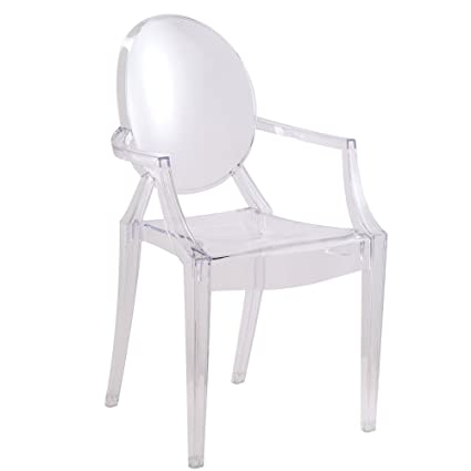 Superbe Designer Modern Louis Ghost Chair   Modern Acrylic Arm Chair