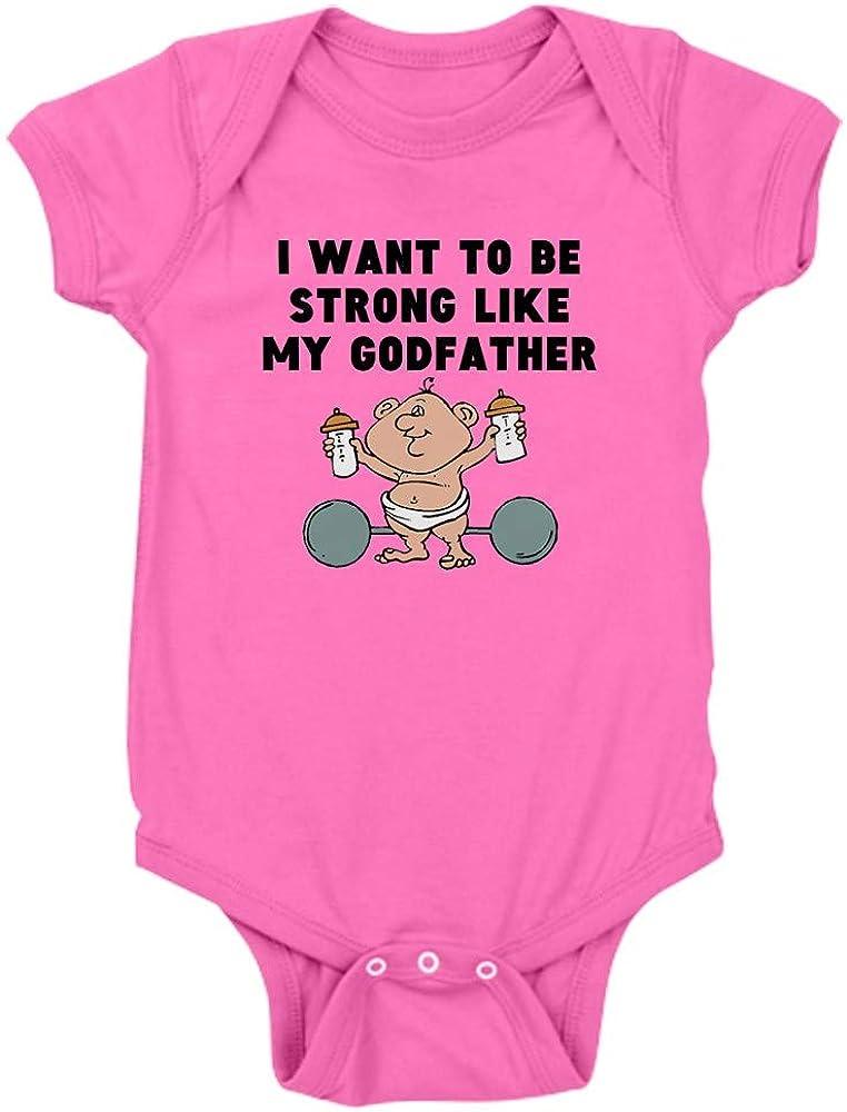 CafePress Strong Like My Godfather Body Suit Baby Bodysuit
