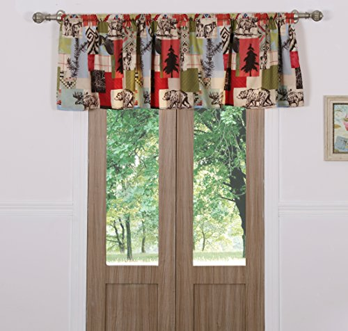 Greenland Home Rustic Lodge Window Valance