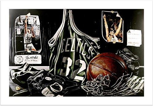 Boston Celtics Autographs (Kevin McHale Boston Celtics ''Tribute to Greatness'' Autographed 16