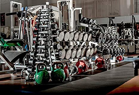 Amazon.com : leyiyi 8x6ft photography backdrop gymnasium background