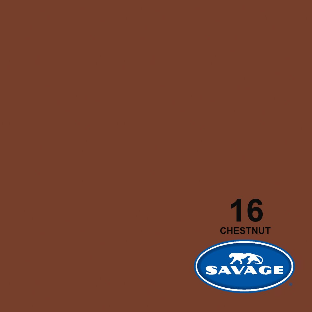 Savage Seamless Background Paper - #16 Chestnut (107 in x 36 ft) by Savage (Image #2)