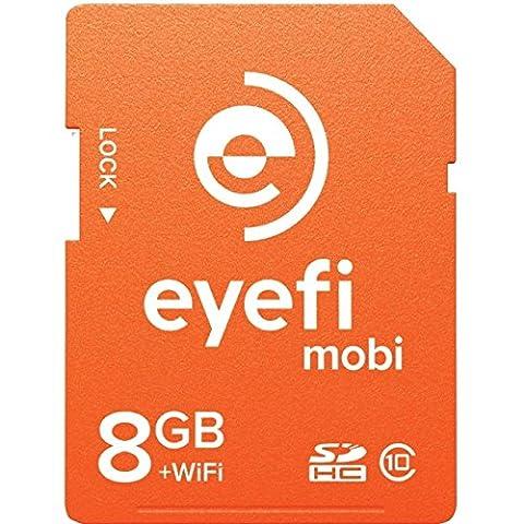 Eye-Fi Mobi 8GB SDHC Card, Wi-Fi Electronic Computer (Eye Fi 8gb Mobi)
