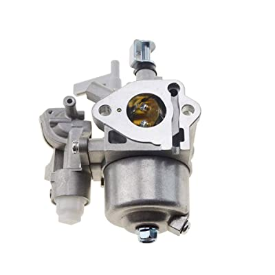 WOOSTAR 21.5mm Carburetor Replacement for EX27 Engine Lawn Mower Parts 7hp 265cc Generator Silver: Automotive