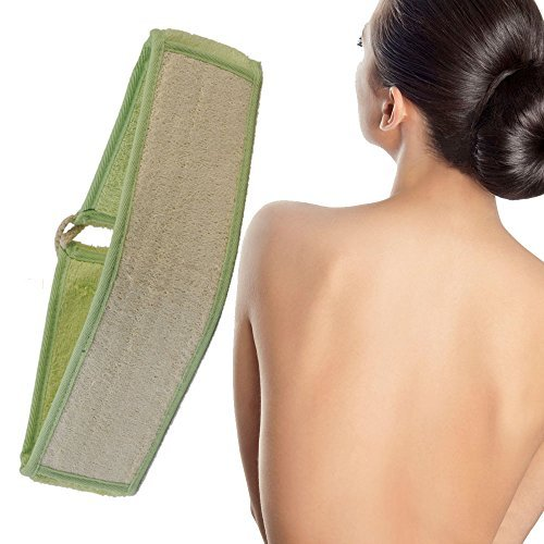 Exfoliating Loofah Back and Body Scrubber for Shower for Men and Women - Extra Long with Bamboo Fibre (6 (Cleave Mask)