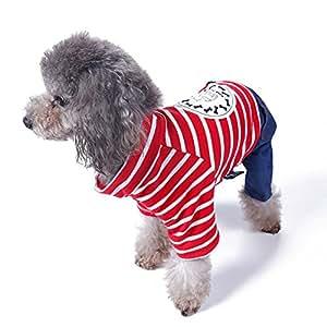 Upsmile Perro Ropa Mascota Chaqueta Otoño Abrigo Cálido Pequeño Gato Mascota Accesorios Animal Mediano Patrones Ropa Disfraz Shist: Amazon.es: Productos ...