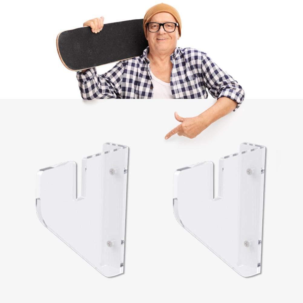 youngfate Skateboard Halterung F/ür Die Wand Longboard Halterung Wand Longboard Longboard Wandhalterung H/ängendes Einfaches Design F/ür Einfache Installation