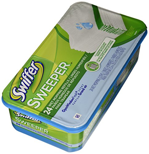 Swiffer Pg 3231 Sweeper Wet Mopping Cloth Refill Open