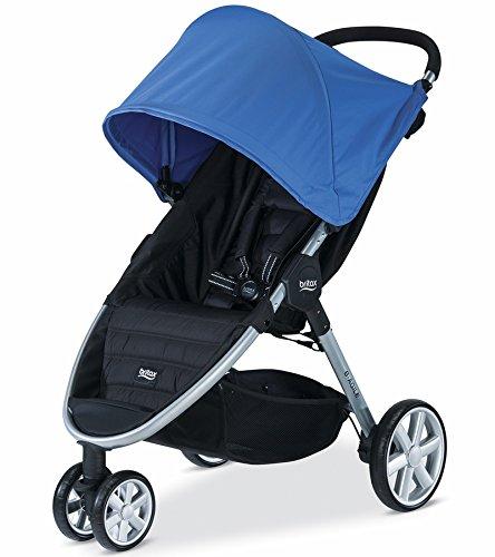 Britax 2015 B-Agile 3 Stroller, Sapphire