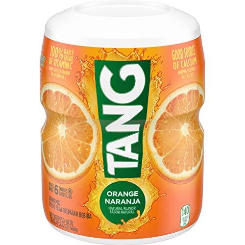 Tang Orange Powdered Drink Mix (20oz Jars, Pack of 12)