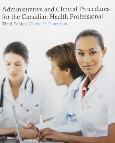 Administrative and Clinical Procedures for the Canadian, used for sale  Delivered anywhere in Canada
