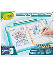 Crayola Light-Up Tracing Pad Teal, Coloring Board For Kids, Amazon Exclusive, Gift, Toys for Boys, Ages 6, 7, 8, 9, 10