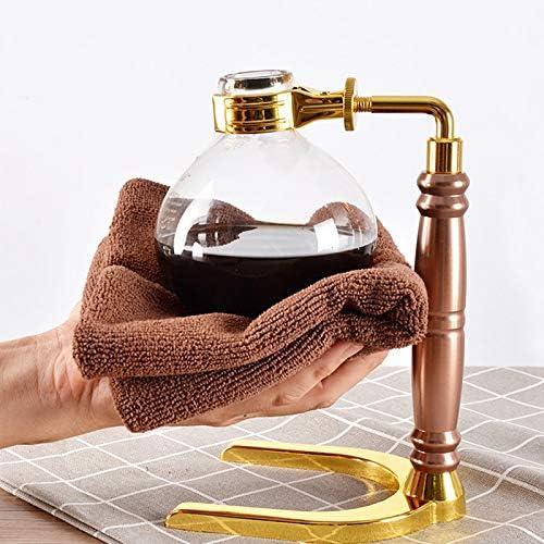Shumo Sifone nel Stile Giapponese Caffettiera Te Sifone Pentola per caffè Sottovuoto Tipo di Vetro Macchina per caffè Filtro 3 Tazze Oro
