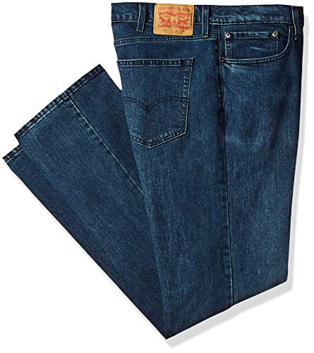 Levi's Men's Big and Tall Big & Tall 559 Relaxed Straight Fit Jean, Ink Jet/Stretch, 46W x 34L