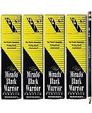 Mirado Black Warrior Woodcase Pencil Nontoxic, HB #2, Black Matte Barrel, Dozen, Sold as 4 Packs of 12, Total of 48 Each