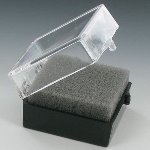 Plastic Hinged Lapel Pin Box - Pack of (Plastic Lapel Pins)