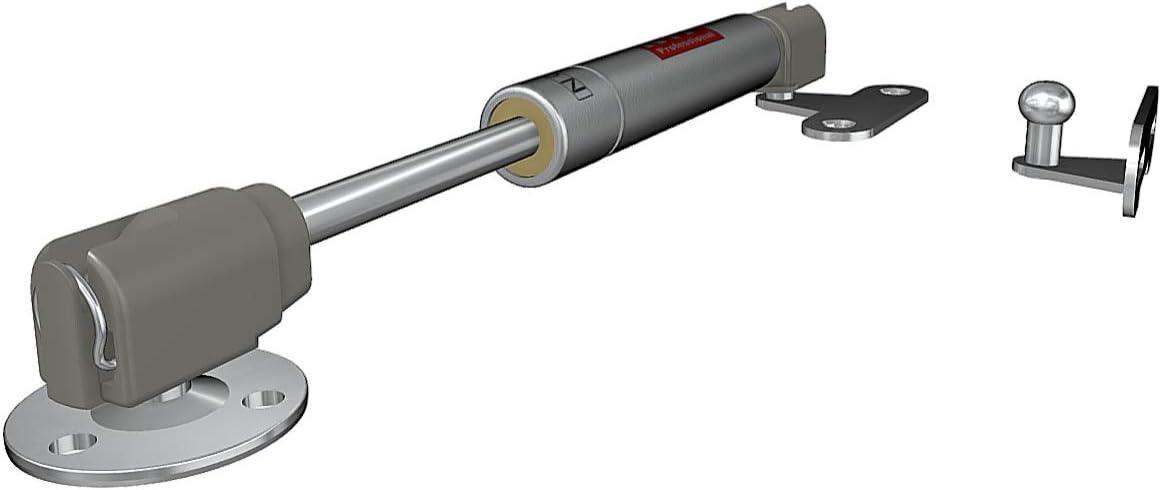 2, 200N D/ämpfer Gasdruckd/ämpfer Gasfeder Gasdruckfeder Kompressionsfeder Mini Kurz