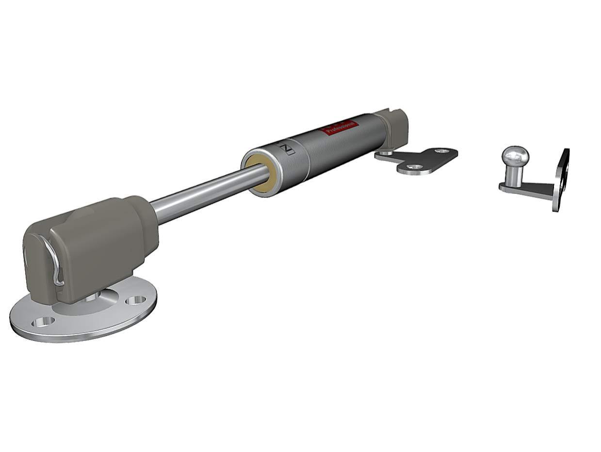 Pist/ón a gas Amortiguador Puertas Elevables Resorte de compresi/ón Versi/ón corta 4, 60N