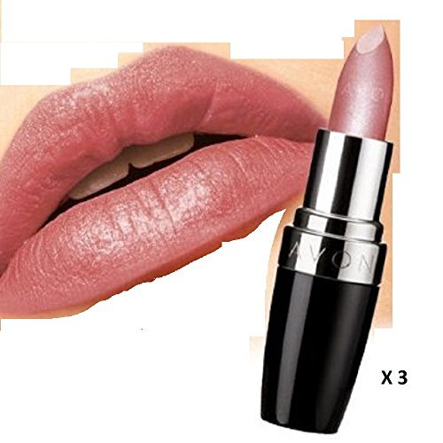 AVON Ultra Colour Rich Lipstick - Satin - Carnation x 3 b...