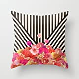 MaSoyy euro style pillow covers 16 x 16 inches / 40 by 40 cm for girls,teens,monther,kitchen,kids girls,lounge with both sides