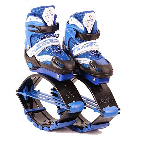 Taps Chaussures Oofay Rebound Charge Enfants 50kg Sautant Jumps 30 La Kangoo Poids Blue Chaîne Rebondissent Forme Physique L'exercice Les Pilotent De wEddrq