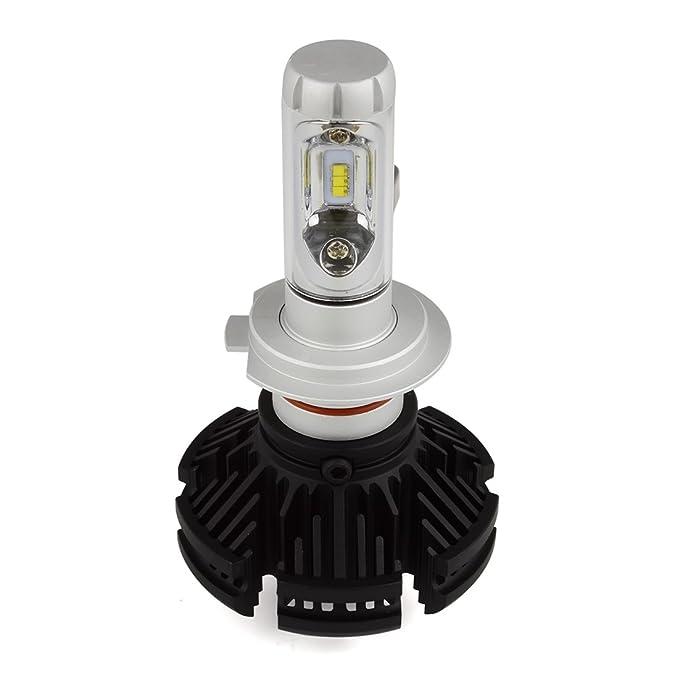 Amazon.com: Safego 50W H7 LED Headlight Kit Bulbs CREE 6Chips 6000LM High Low LED Car Conversion Kit 12V Lamp X3-H7: Automotive