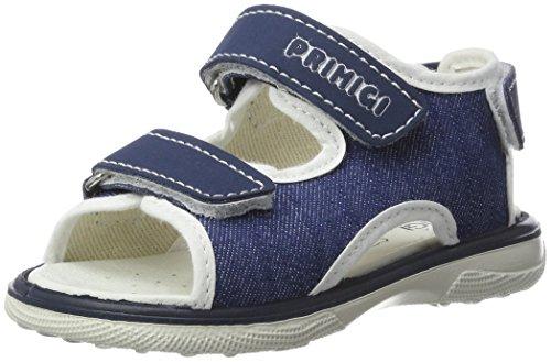 Primigi Pmi 7553, Botines de Senderismo para Bebés Azul (Denim/blu Chiar)