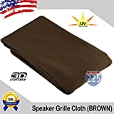 Us Cabinet All Colors Stereo Speaker Grill Cloth Fabric 36